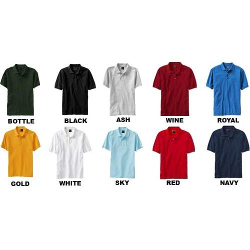 Classic Poly Cotton Polo Shirts