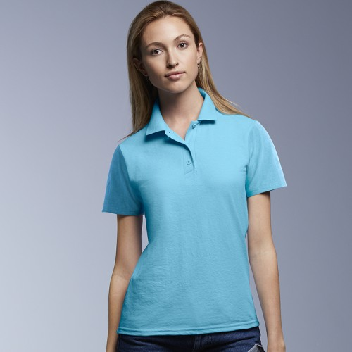 Anvil women's double pique polo ladies 210 GSM Polo Shirt