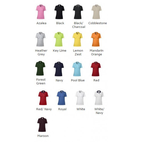 Anvil women's double pique polo ladies 210 GSM Polo Shirt