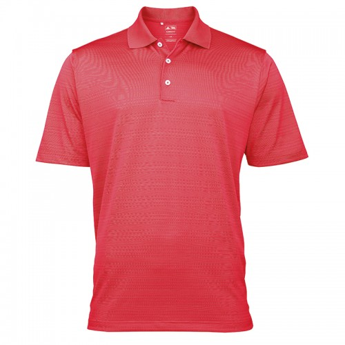 ADIDAS top Climalite® textured solid polo AD015