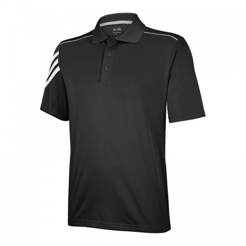 ADIDAS top ClimaCool® 3 stripe polo Performance  GSM Polo Shirt