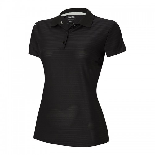 ADIDAS top Women's corporate 3 stripe Ladies Polo Shirt