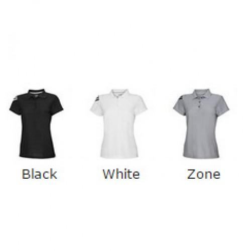 ADIDAS top Women's corporate 3 stripe Ladies Polo Shirt