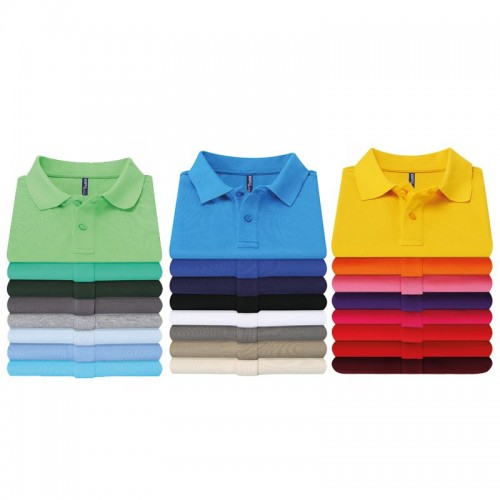 Asquith & Fox top Men's Polo Cotton Polo in 24 colours