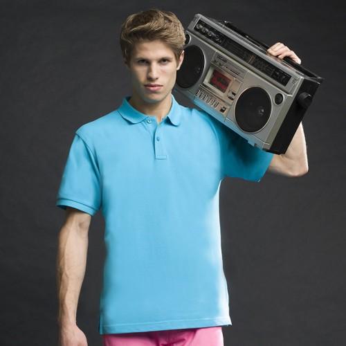 Asquith & Fox top Men's Polo Cotton Polo in 24 colours