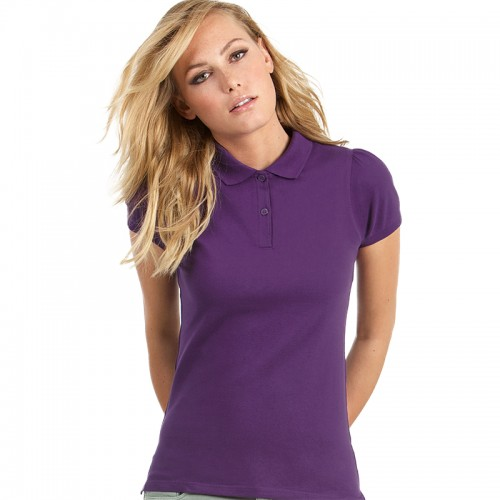 B&C top Heavymill /women Performance 230 GSM Polo Shirt