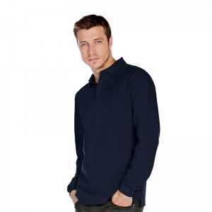 B&C top Heavymill long sleeve Performance 230 GSM Polo Shirt