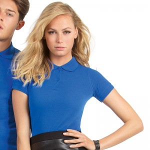B&C top Safran pure ladies fit 180 GSM Polo Shirt