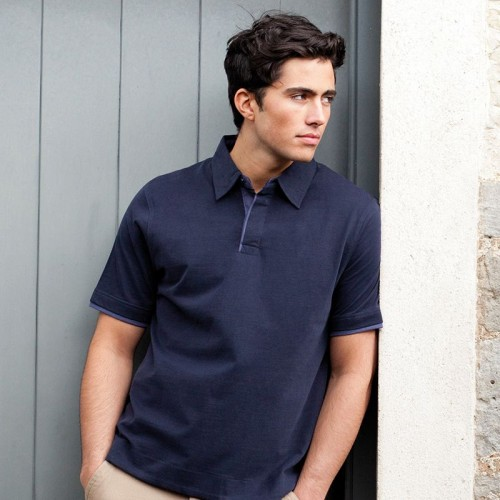 Front Row & Co top Super soft touch jersey work GSM Polo Shirt