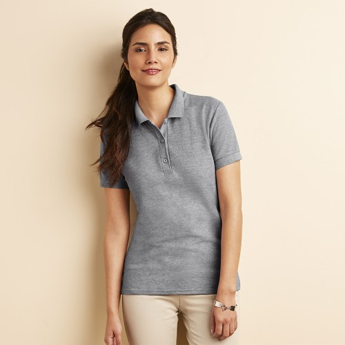 Gildan Heavy combed cotton double pique Girls Polo