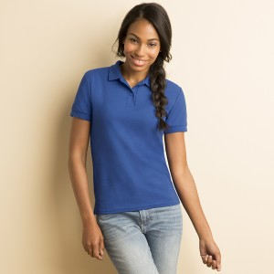 Gildan Ladies DryBlend™ double pique sports shirt