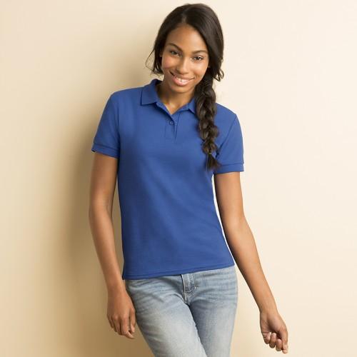 Gildan Ladies DryBlend™ double pique sports shirt