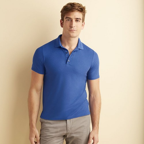 Gildan 100% Filament polyester polo shirt for sports