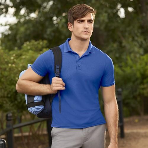 Gildan 100% Filament polyester polo shirt for sports