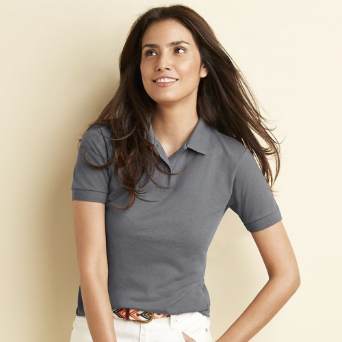 Heavy duty Ladies Women's DryBlend™ pique polo