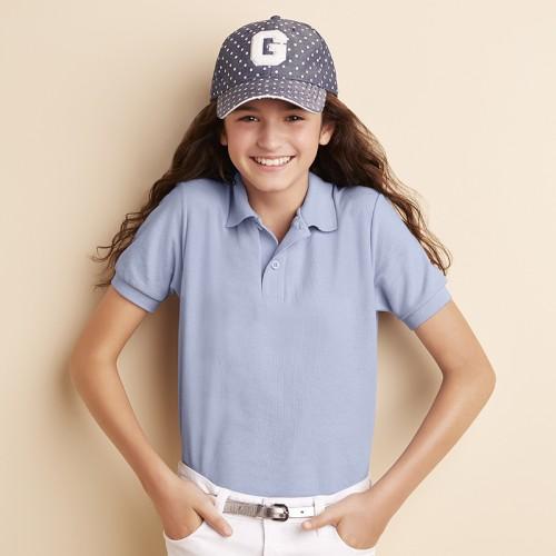 Gildan top DryBlend™ youth double pique sports shirt polo