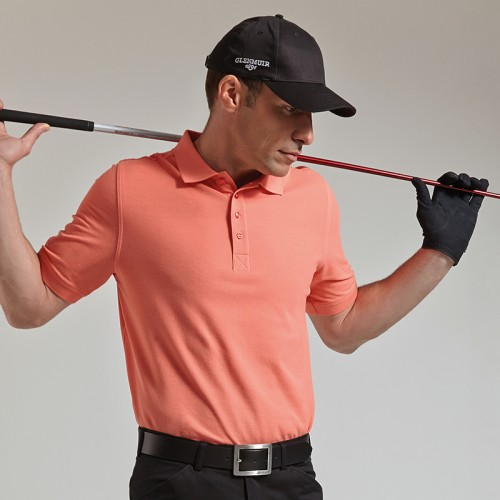Glenmuir Pique Golf Polo Shirt 100% Combed cotton