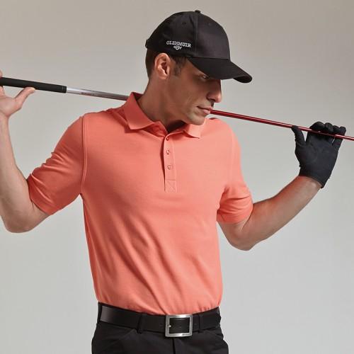 Glenmuir Pique Golf Polo Shirt 100% Combed cotton