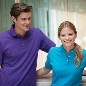 HENBURY with stand up collar Luxury 225 GSM Polo Shirt