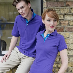 Placket Contrast 65/35 polo 200 GSM Polo Shirt