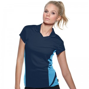 Side panel Women's Gamegear® Cooltex® team polo
