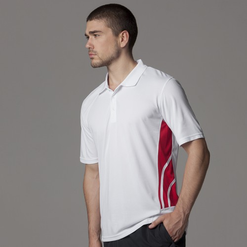 Gamegear® Cooltex® side panel contrast polo