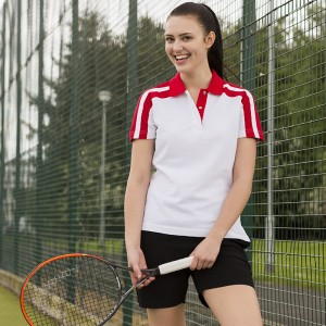 Finden Hales top Women's racing polo Performance 225 GSM Polo Shirt