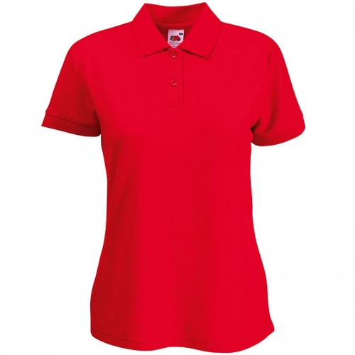 Fruit of the Loom top Lady-fit 65-35 long length polo