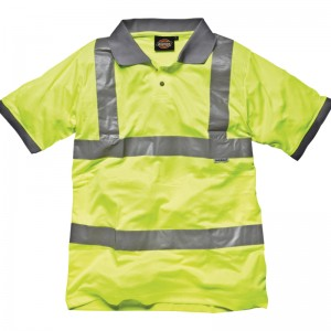 Dickies top Hi-vis polo shirt (SA22075) Performance 170 GSM Polo Shirt