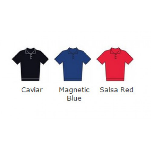 Callaway top Hawkeye Chambray inspired polo 156 GSM Polo Shirt