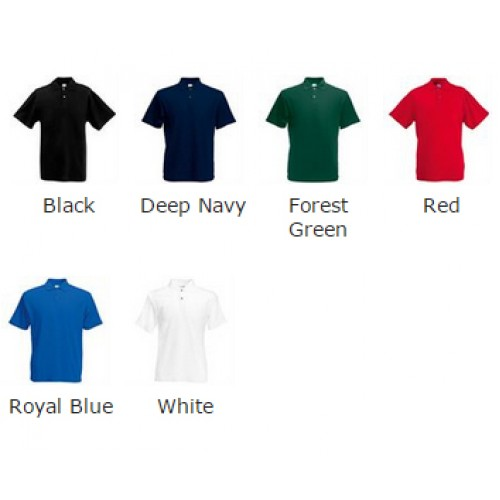 Fruit of the Loom top Original polo cheap 180 GSM Polo Shirt