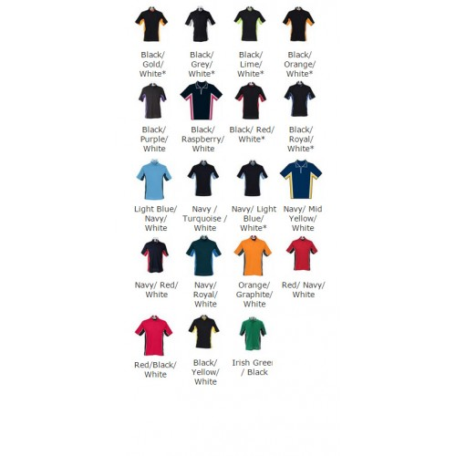 Gamegear® track polo side pipping polo
