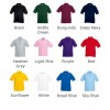 Fruit of the Loom top Kids 65/35 pique polo Performance 180 GSM Polo Shirt